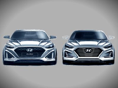 Хендай рассекретила дизайн нового седана Sonata