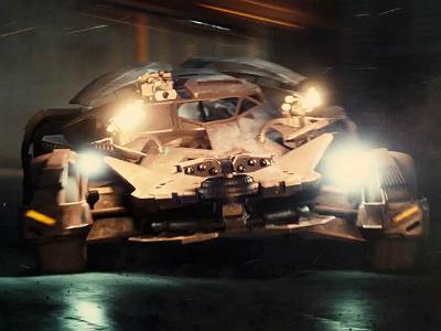 Новый бэтмобиль засветился в трейлере «Лиги справедливости»