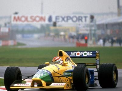 Болид Михаэля Шумахера Benetton B-191 выставлен нааукцион