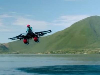 Kitty Hawk начнет продажи летательного аппарата Flyer в этом году (видео)