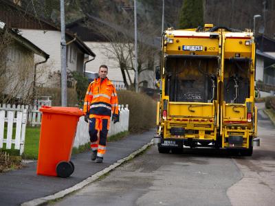 Вольво  приступила киспытаниям беспилотного мусоровоза
