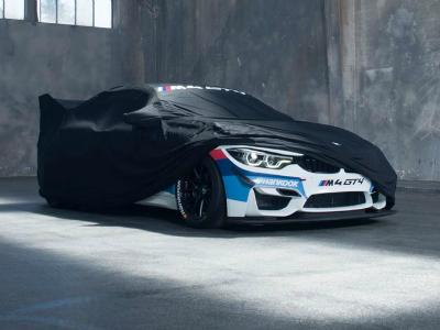 Компания БМВ показала тизер экстремально «злого» купе M4 GT4