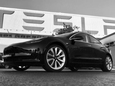 Илон Маск продемонстрировал 1-ый серийный электромобиль Tesla Model 3