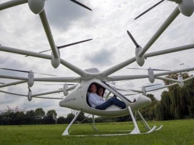 Daimler инвестирует влетающие беспилотные такси отVolocopter