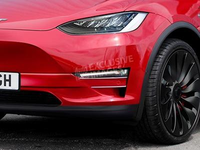 Первые изображения доступного кроссовера Tesla Model Y