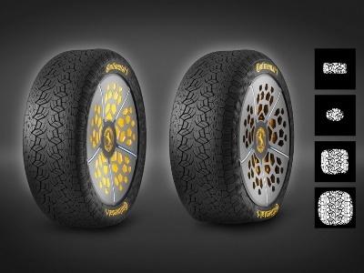 Continental представил «умные» шины