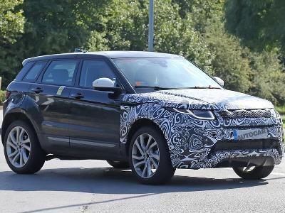 Range Rover оснастят трёхцилиндровым двигателем