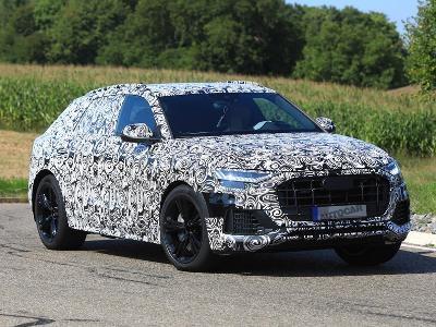 Audi SQ8 будет 476-сильным супергибридом