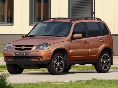 В честь 15-летия Chevrolet Niva получила новый цвет