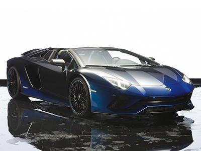 Напокраску кузова спецверсии Lamborghini Aventador ушло 170 часов