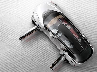 Nissan представил электрический беспилотный кроссовер IMx