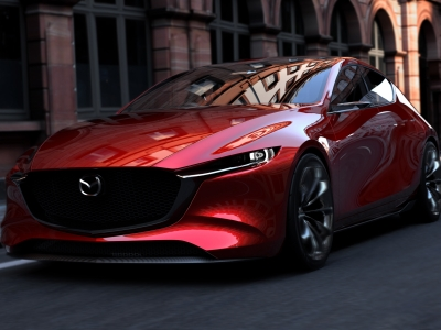 Mazda раскрыла облик новой «трёшки»