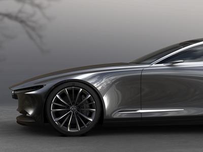 Mazda представила концепт роскошного купе