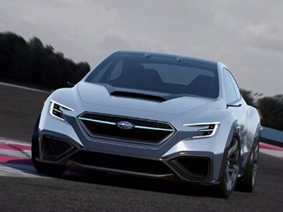 Subaru публикует фото концепта Viziv Performance