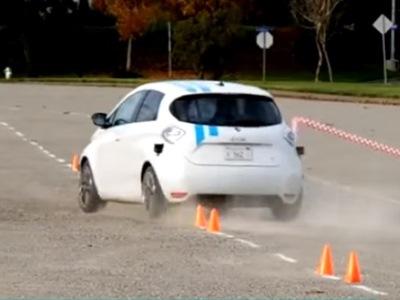Рэно показала систему автоматического вождения