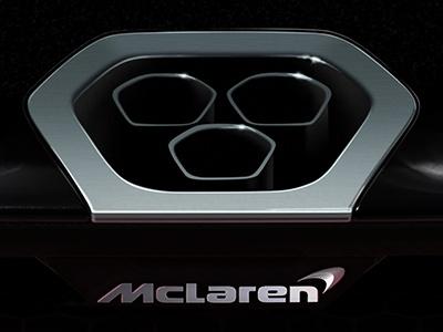 Cамый экстремальный McLaren: новая фотография