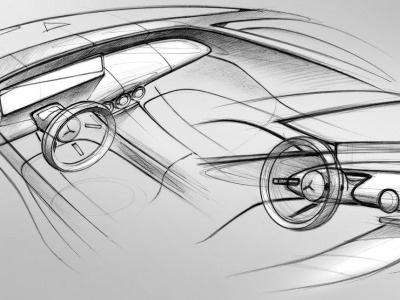 Benz рассекретил дизайн нового A-Class