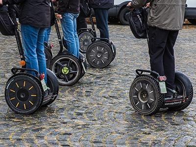 Власти столицы введут правила для перемещения нагироскутерах исегвеях