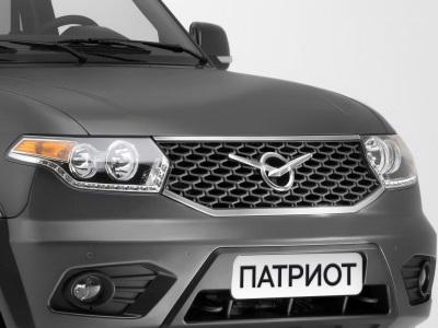 Новая раздатка иникакого автомата— УАЗ Патриот
