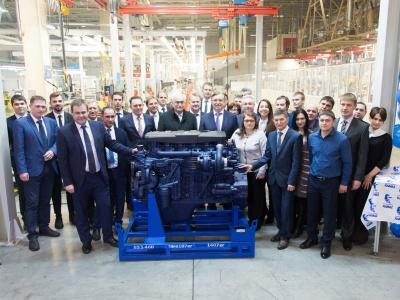 «КАМАЗ» весной наступающего года запустит серийное производство моторов Р6