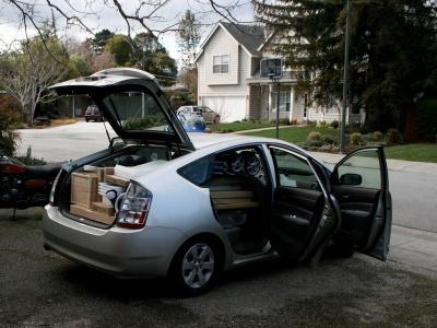 Сколько мешков цемента можно возить в багажнике легковушки