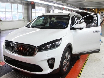 Производство Кия Sorento Prime стартовало в РФ