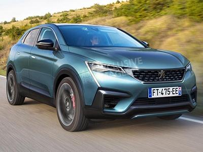 Peugeot (Пежо) выпустит в 2020-ом купеобразный кроссовер 4008