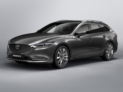 Рестайлинговый универсал Mazda 6: официальные фото