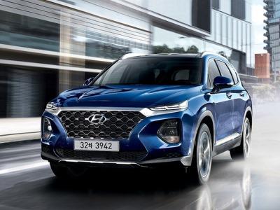 Hyundai полностью рассекретил новый Santa Fe