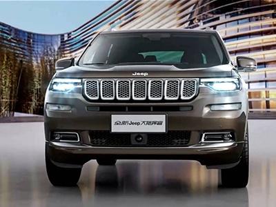 Jeep показал салон нового семиместного кроссовера Grand Commander