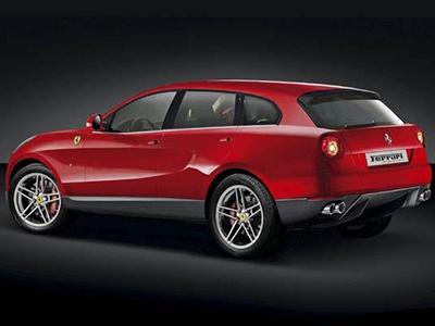Ferrari испытывает бесшумный мотор для гибридного кроссовера