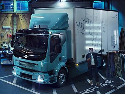 Volvo выкатила первый электрический грузовик
