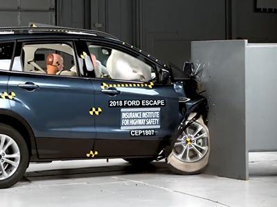 Ford запатентовал подушку безопасности для колеса