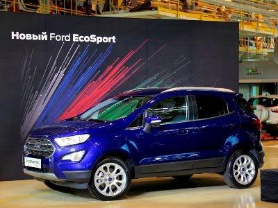 В России началось производство обновленного кроссовера Ford EcoSport