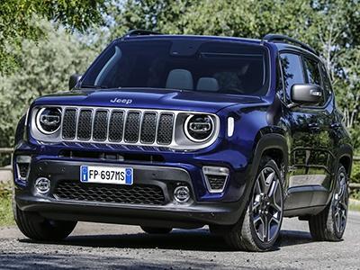 Jeep представил обновленный кроссовер Renegade