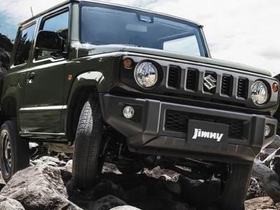 Новый Suzuki Jimny полностью раскрыт