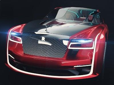 Аргентинский дизайнер представил перспективную модель Rolls-Royce