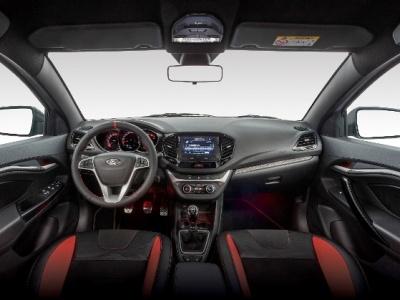 «АвтоВАЗ» показал интерьер спортивной LADA Vesta