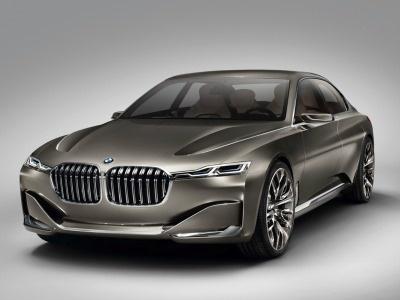 В БМВ не опровергают создание четырехдверного купе 9-Series