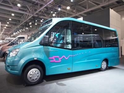 ГАЗ презентовал первые модели беспилотных авто