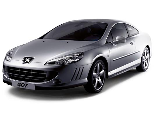 Peugeot 407 купе