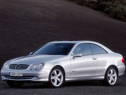 Mercedes-Benz CLK-Класс купе