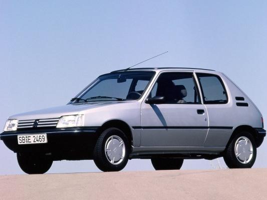 Peugeot 205 хэтчбек 3-дв.