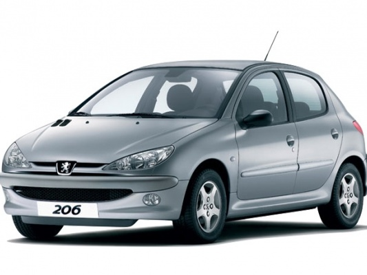 Peugeot 206 хэтчбек 5-дв.