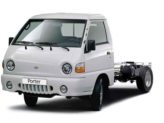 Hyundai Porter шасси