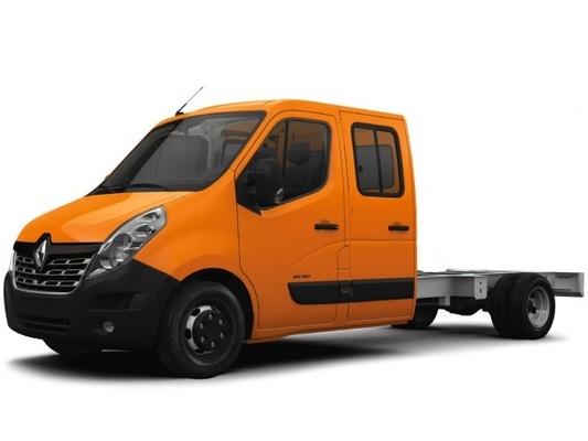 Renault Master шасси 4-дв.