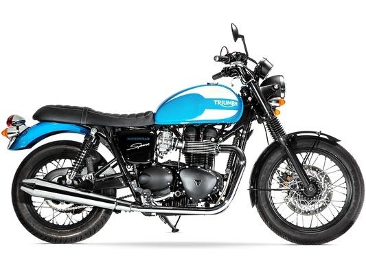 Triumph Bonneville T100 Spirit