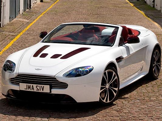 Aston Martin V12 Vantage родстер