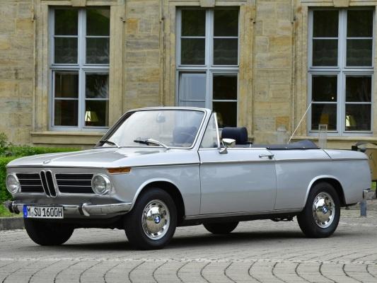 BMW 02 кабриолет