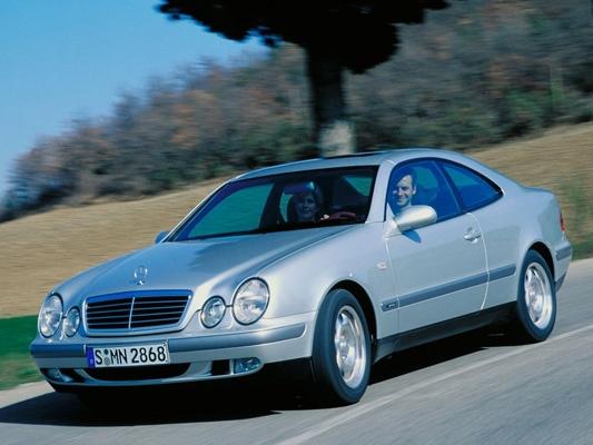 Mercedes-Benz CLK-Класс купе